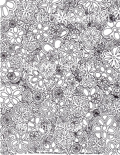 Free Complex Coloring Pages to Print for Adults S8CJE