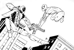 Free Deadpool Coloring Pages to Print 105375