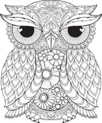 Free Difficult Animals Coloring Pages for Grown Ups DSE398