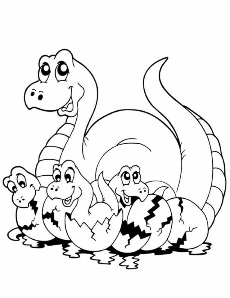 Free Dinosaurs Coloring Pages   18fg23
