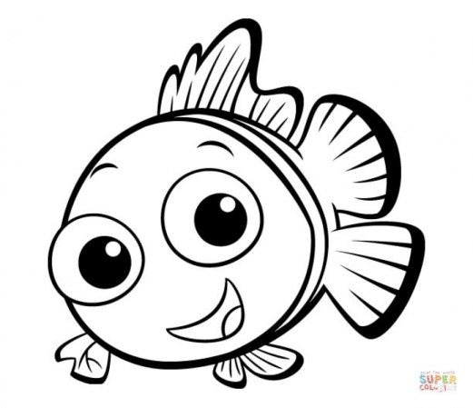 Free Fish Coloring Pages to Print 920521