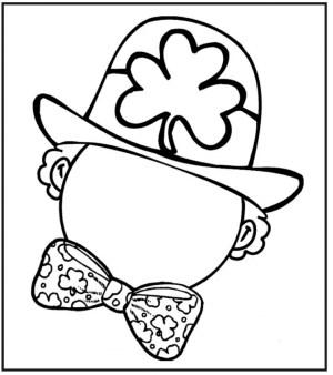Free Leprechaun Coloring Pages to Print 6pyax