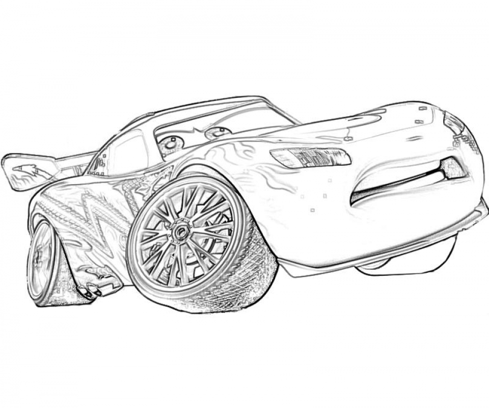 Free Lightning McQueen Coloring Pages to Print   920518