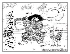 Free Moana Coloring Pages to Print 77SA9