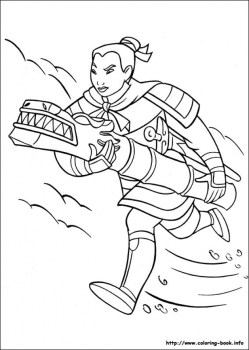 Free Mulan Coloring Pages to Print 590f10