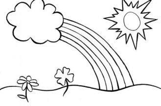 Free Rainbow Coloring Pages 18fg22