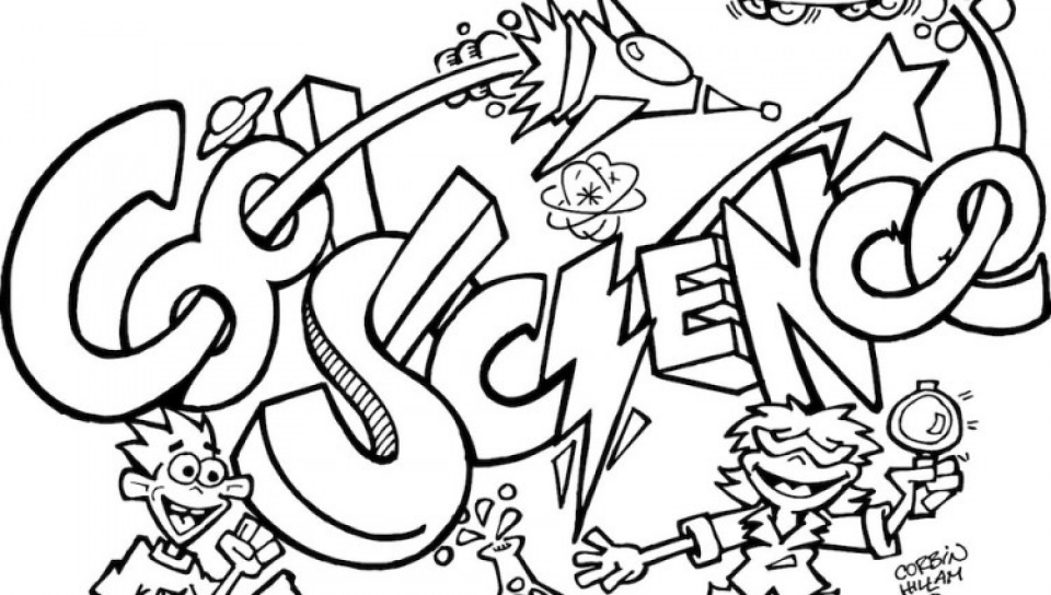 Free Science Coloring Pages   2srxq