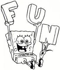 Free Spongebob Squarepants Coloring Pages 9tf1q