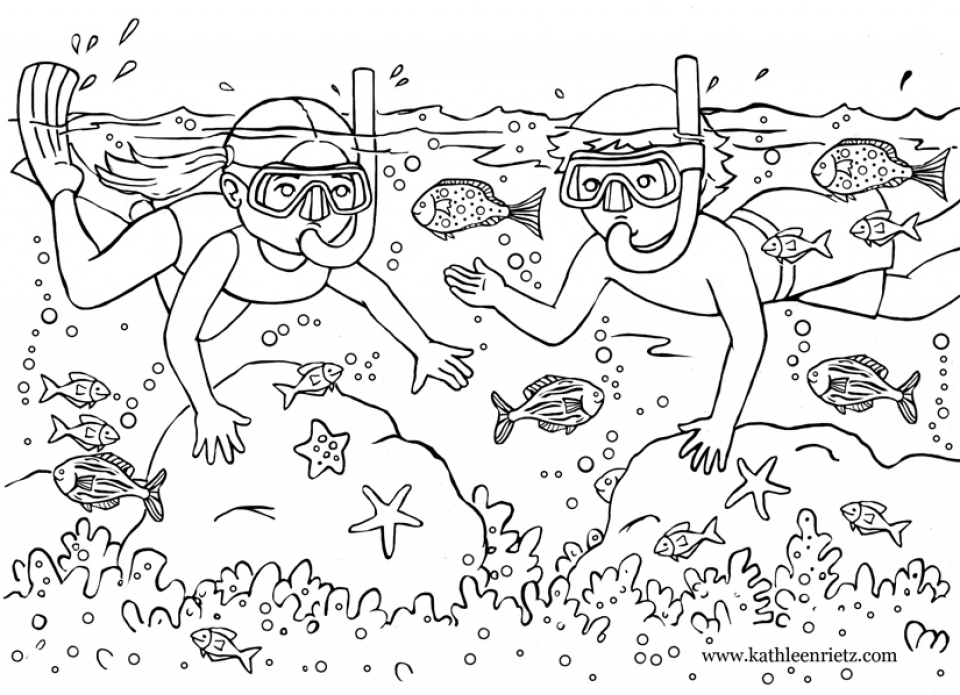Get This Free Summer Coloring Pages To Print 415115 !
