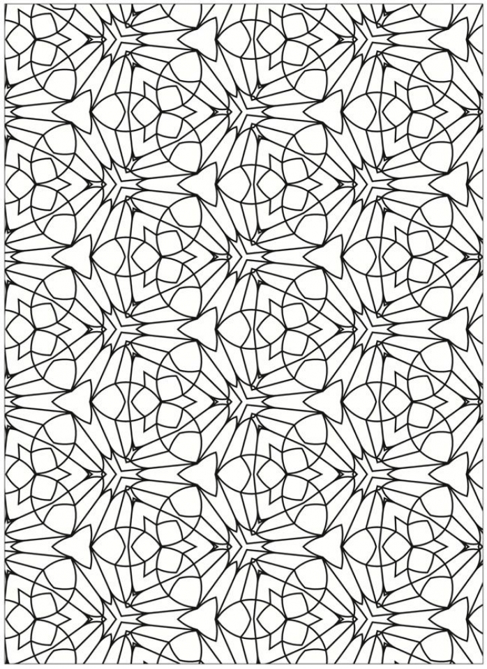 Get This Free Tessellation Coloring Pages Adult Printable ...