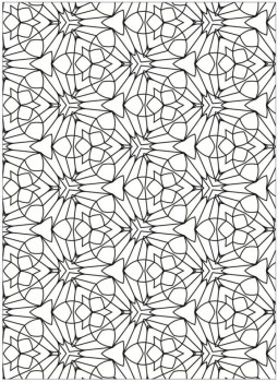 Free Tessellation Coloring Pages Adult Printable 83418
