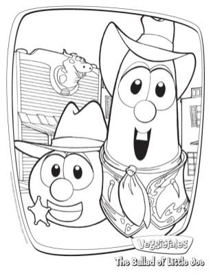 Free Veggie Tales Coloring Pages 2srxq