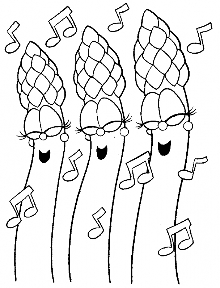 Free Veggie Tales Coloring Pages to Print   t29m4