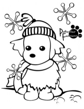 Free Winter Coloring Pages 492361