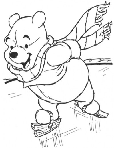 Free Winter Coloring Pages 623676