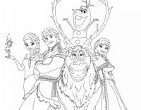 20+ Free Printable Disney Frozen Coloring Pages ...