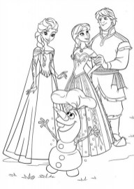 Frozen Coloring Pages Free Printable 679167