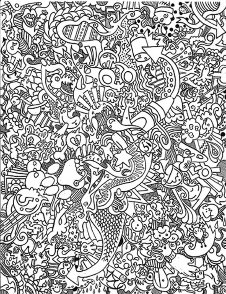 get this hard trippy coloring pages free for adults z7cv7