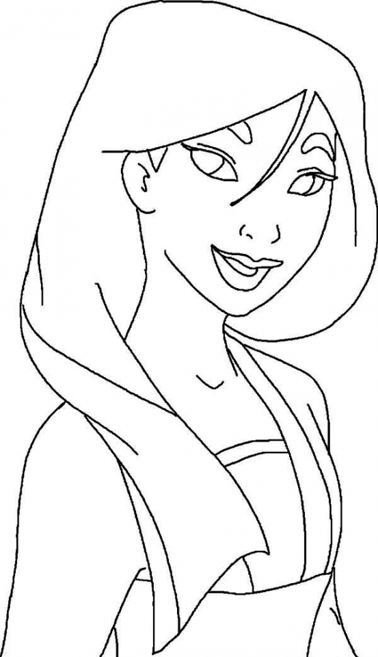 Mulan Coloring Pages Free Printable   p3frm