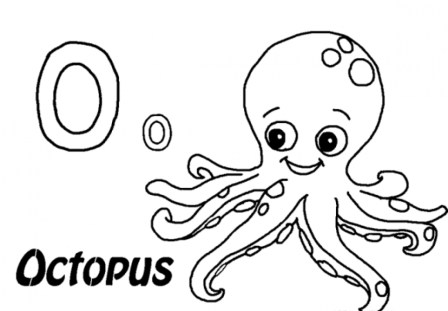 Octopus Coloring Pages Free Printable jcaj25