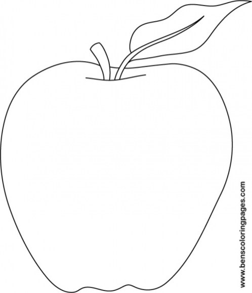 Online Apple Coloring Pages f8shy