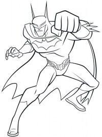 Online Batman Coloring Pages 358889