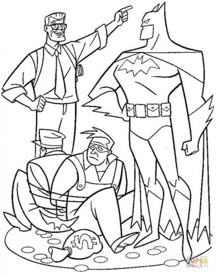 Get This Online Batman Coloring Pages 703925
