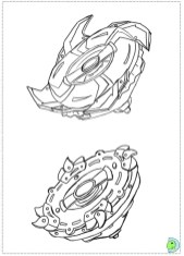 Online Beyblade Coloring Pages 28344