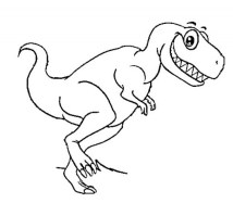 Online Dinosaurs Coloring Pages f8shy