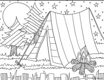 Online Summer Coloring Pages 883932