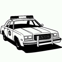 adult police car coloring page police car coloring pages ... | 200x200