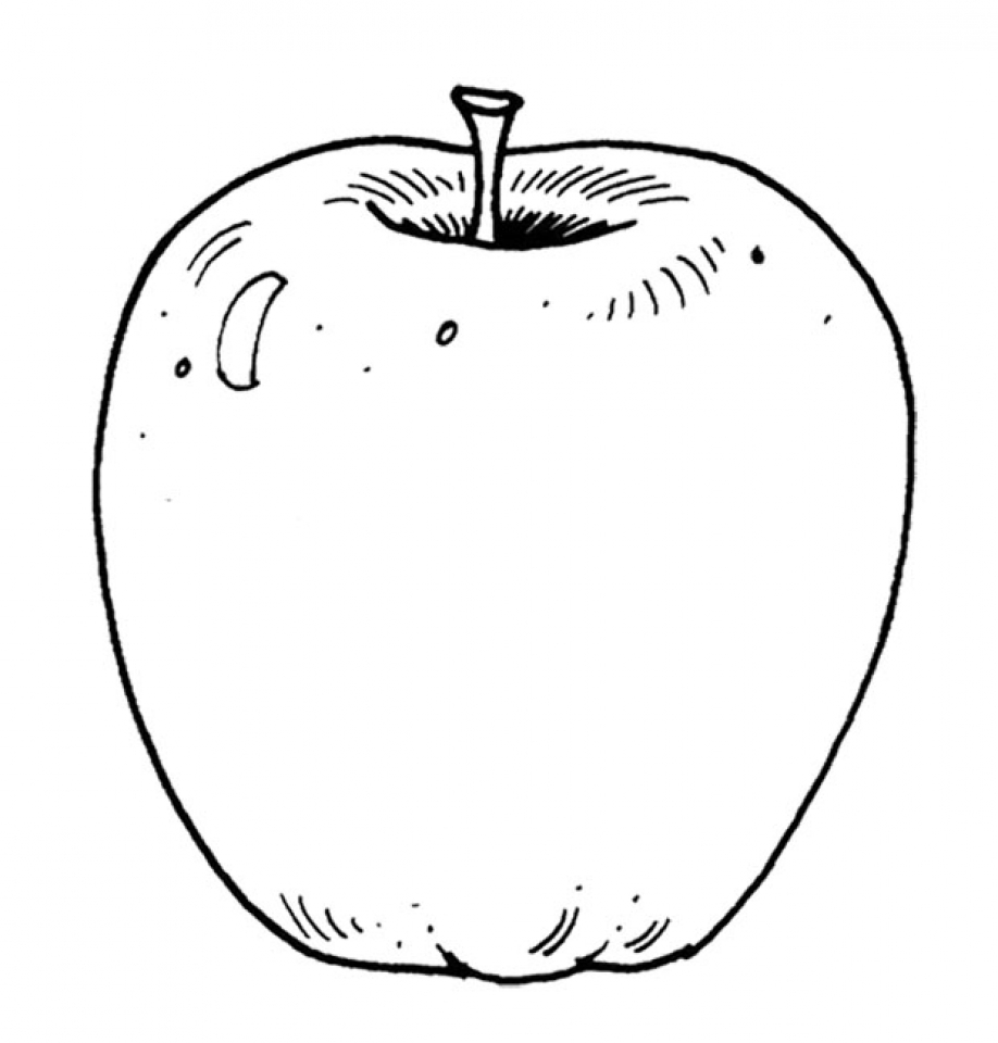 Seedlin Apple Pages Coloring Pages