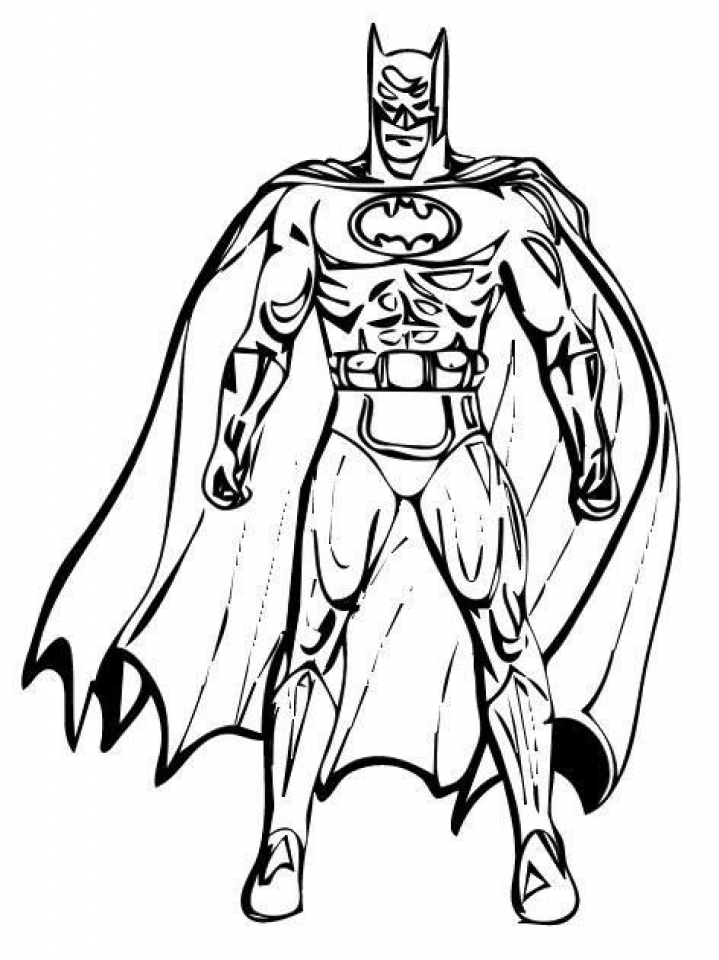 Get This Printable Batman Coloring Pages 810606