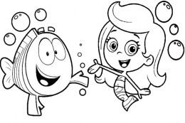 Printable Bubble Guppies Coloring Pages Online 781013