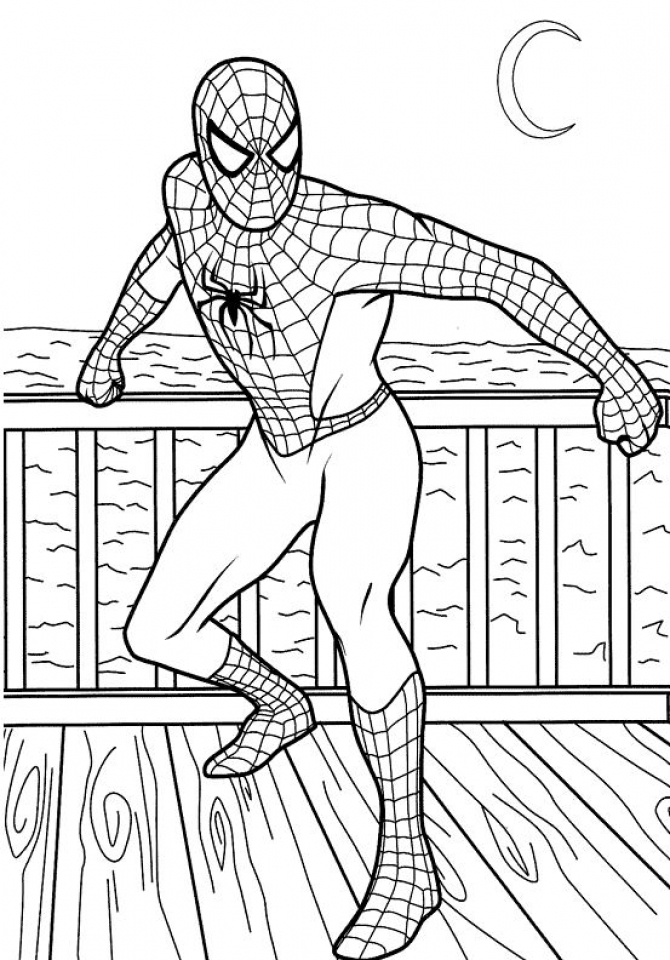 Printable Coloring Pages for Boys   58425