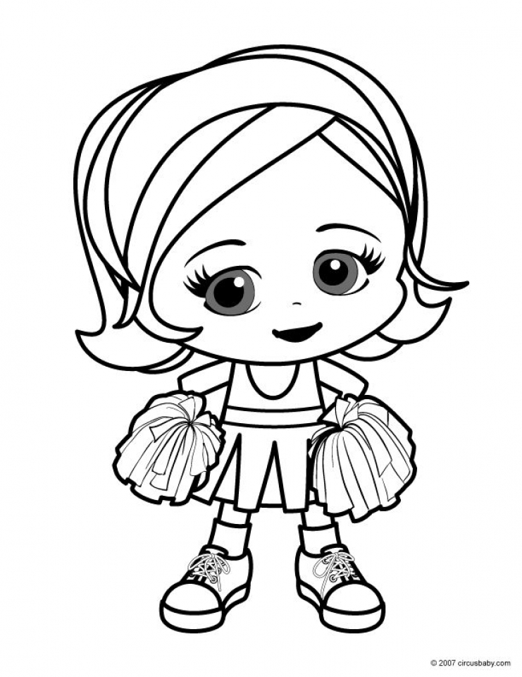 Printable Cute Coloring Pages for Preschoolers   04VG1