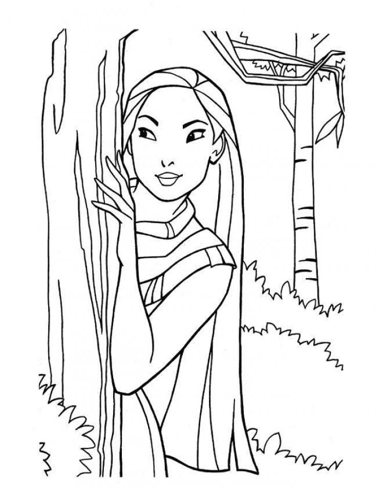 Get This Printable Disney Princess Coloring Pages Online ... | colouring pages online disney princess