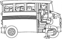 Printable School Bus Coloring Pages Online 4auxs