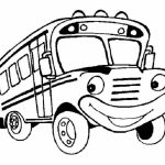 20+ Free Printable School Bus Coloring Pages