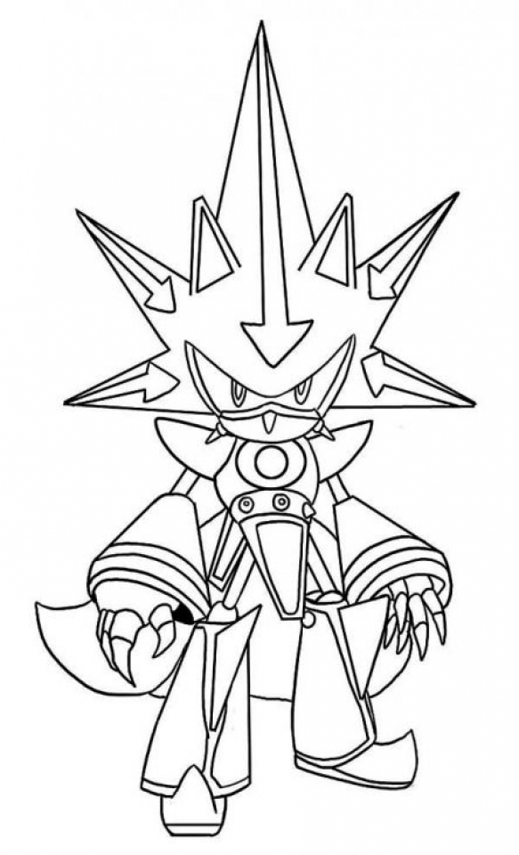 Printable Sonic Coloring Pages Online   735292