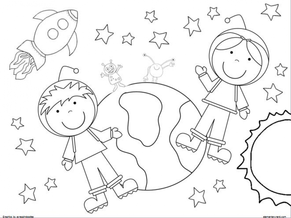 Get This Printable Space Coloring Pages Online mnbb18