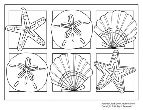 Printable Summer Coloring Pages Online 106085