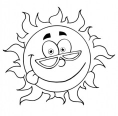 Printable Summer Coloring Pages Online 711870