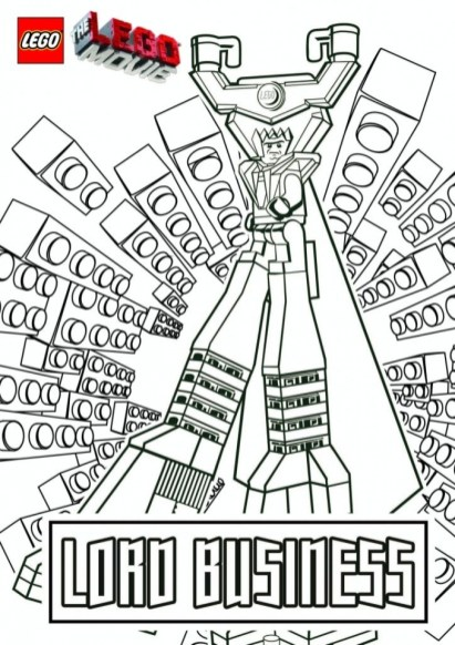 Printable The Lego Movie Coloring Pages Online 184773