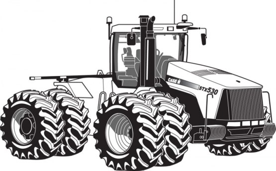 Printable Tractor Coloring Pages 01827