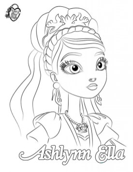 Royal Rebels Ever After High Girl Coloring Pages Printable MBZ66