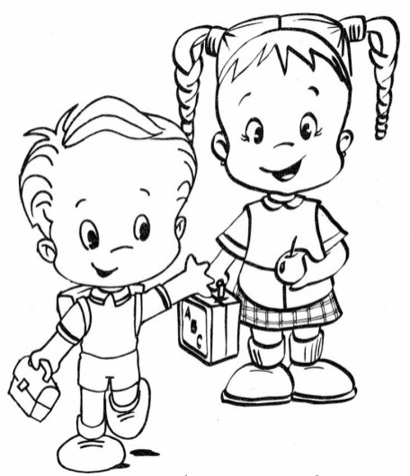 School Coloring Pages for Kindergarten 356vyh7