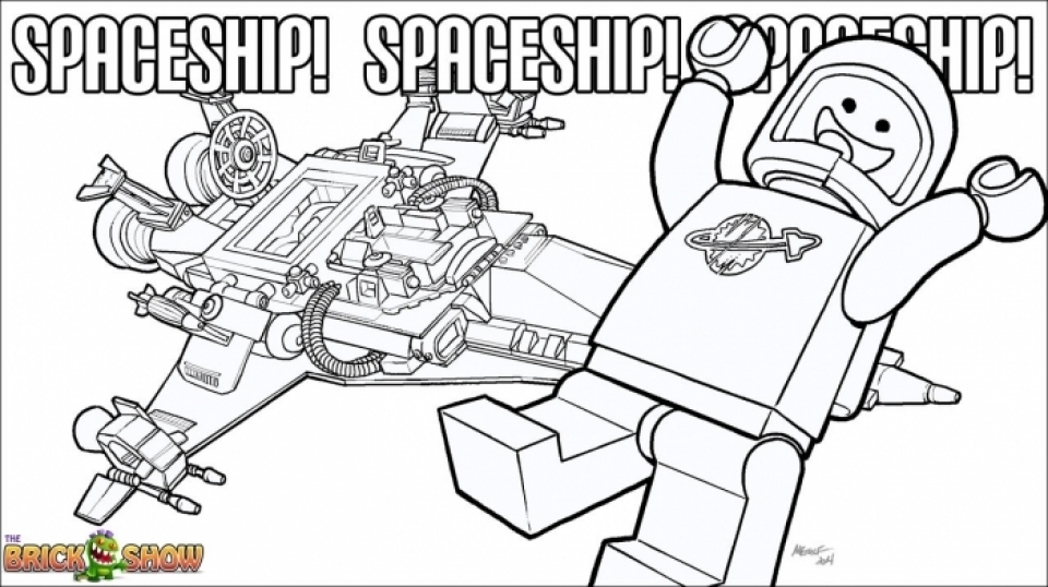 The Lego Movie Coloring Pages Free Printable   253844