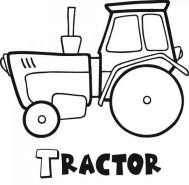 Tractor Coloring Pages Free Printable 80226