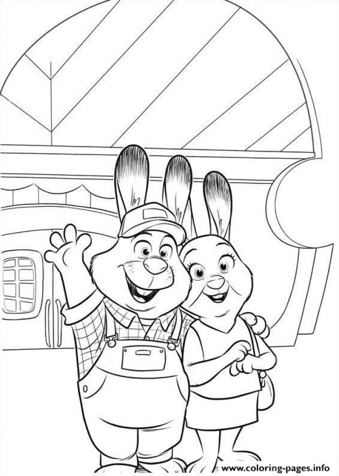 Zootopia Coloring Pages Free Printable   253850